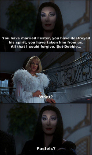Addams Family Wednesday Quotes