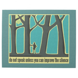 John Muir Quote Jigsaw Puzzle