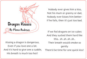 Illustrated 'Dragon Kisses' Poem | Free EYFS & KS1 Resources