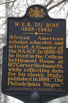 Bill Wolfe W. E.B. Du Bois - black american scholar, educator ...