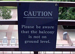 most insanely obvious signs in the world 04 Funny: Obvious signs