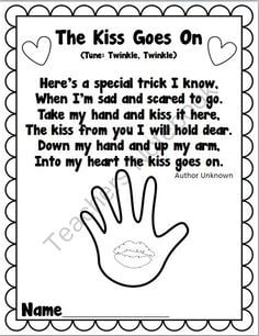 ... Hands Poems, The Kissing Hand, Avail, Teacher Notebooks, Schools Packs