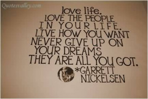 never give up on your dreams Quotes About Not Giving Up On Your Dreams