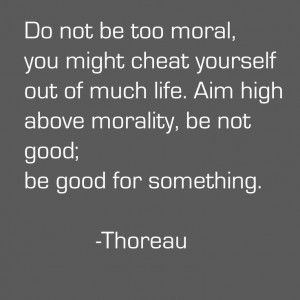 think so few know the difference between morality and ethics ...