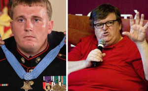 ... Recipient SHREDS Michael Moore for his 'Snipers Are Cowards' Rant