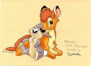 Bambi Thumper And Flower