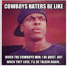 Chris Tucker on Cowboys haters... More