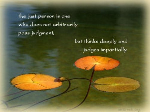 Think deeply quotes judgement quotes