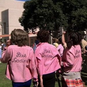grease rizzo Pink Ladies
