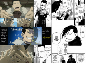 Greed Fullmetal Alchemist Quotes Greed collage by paranormal-