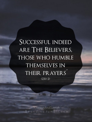 Quran Verse on Success and Prayer ← Prev Next →