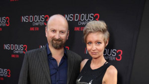 Neil Marshall and Axelle Carolyn seen at Gramercy Pictures presents