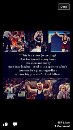 wrestling quote more inspiration wrestling stuff greatest sports ...
