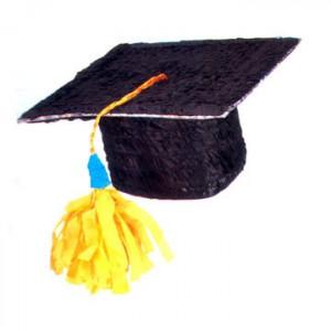 Graduation cap pinata