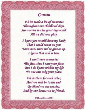 cousins quotes and sayings