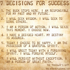 Andy Andrews 7 Decisions