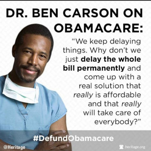 Dr Ben Carson quote