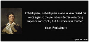 More Jean-Paul Marat Quotes
