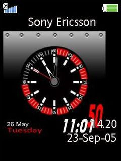 Browsing featured Sony Ericsson W595 themes