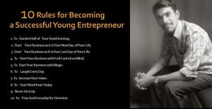 Young Entrepreneur Quotes Young entrepreneur