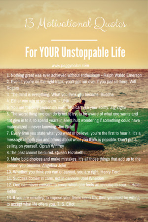 Quotes About Being Unstoppable
