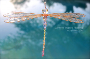 ... this image include: art, dragonflies, dragonfly, nature and suncatcher