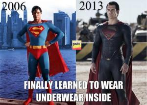 Superman 2006 versus 2013
