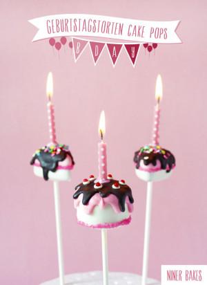 Irthday Cake Pop Tutorial