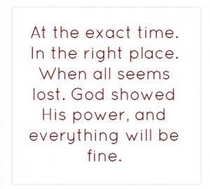 Believe en JESUS...