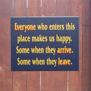 Funny Porch Signs