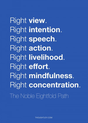 quote # quotes # the eightfold path # buddha # buddhism # art ...