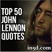 Top 50 John Lennon Quotes | In5d.com