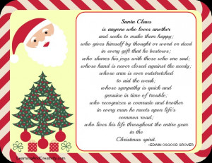 Santa Claus Quotes Christmas Quotes ~ Christmas Quote - Learning and ...