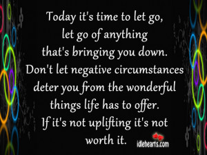 Time to Let Go Quotes