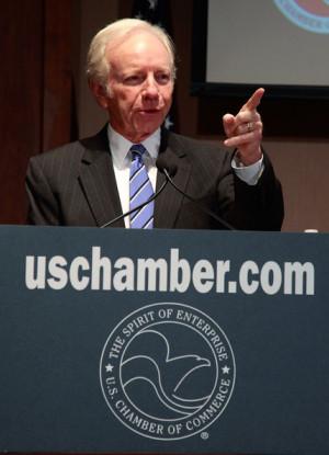 Sen Joe Lieberman Addresses Cybersecurity Legislation Joe Lieberman