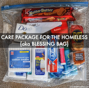... 26/how-to-make-care-packages-for-the-homeless-aka-blessing-bags/ Like
