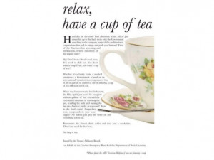 Lovely Tea Quotes