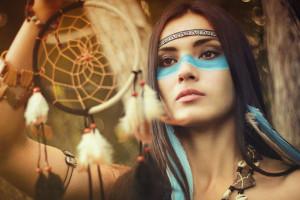 INDIAN GIRL by AlexandraPetrakova