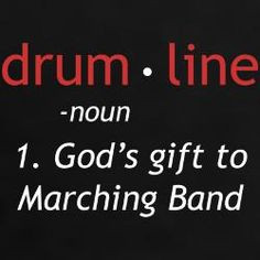 Drumline Sayings/Jokes