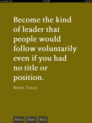 Lds Quote. Brian Tracy:)