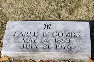 Earle Combs Grave Photo 3