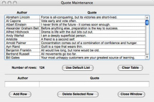 Maintenance Quotes
