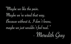 Showing Gallery For Meredith Grey Quotes