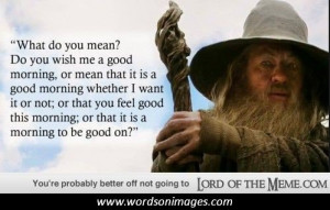 the lord of the rings inspiring quotes