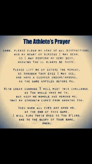 Back > Gallery For > Athletes Prayer Before A Game