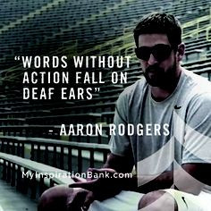 Words without action fall on deaf ears