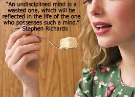 ... author Stephen Richards gives a quote about the undisciplined mind