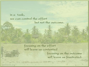 Effort quotes focusing on the outcome quotes focus quotes
