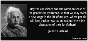 ... an incomprehensible aberration of their forefathers! - Albert Einstein