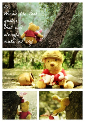 10 Winnie the Pooh Quotes That Will Always Make Us Cry